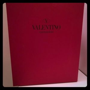 Shoes - Valentino shoe box and dust bag